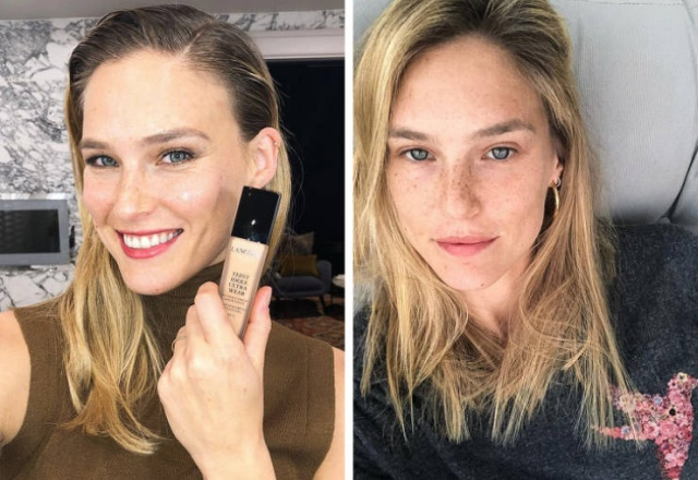 Some Celebs Look Even Better Without Makeup (19 pics)