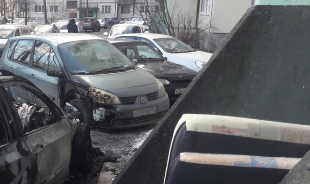 Parking Lot Revenge In Russia (2 pics)