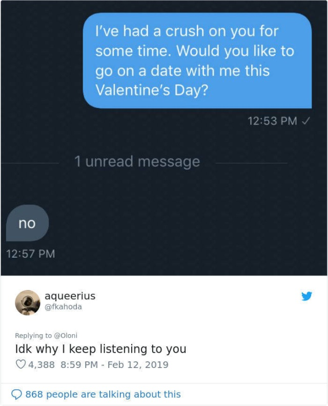 Women Asked Their Crushes Out In A New Valentine's Day Twitter Challenge (31 pics)