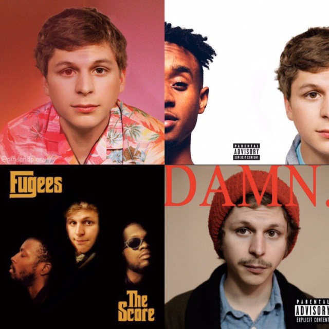 Michael Cera aOn The Covers Of Hip-Hop Albums (3 pics)