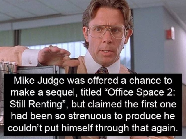 """Office Space"" Facts (17 pics)"