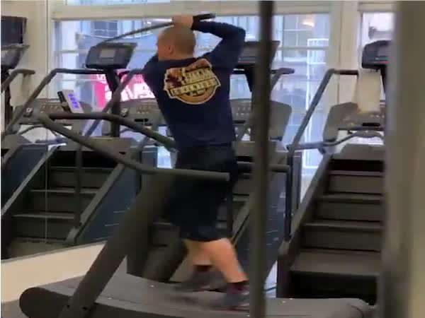 What Is He Training For?