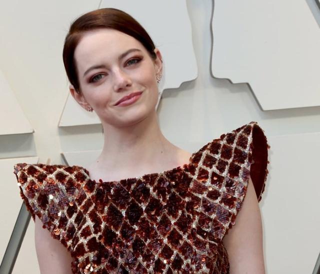 Emma Stone's Dress at 2019 Oscars Looks Like... (7 pics)