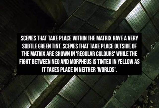 """""""The Matrix"""" Facts (18 pics)"""