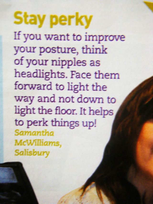 Awkward Life Hacks From Women's Magazines (21 pics)