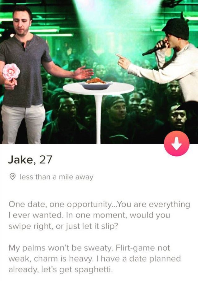 One Guy Makes Funny Tinder Profiles (30 pics)