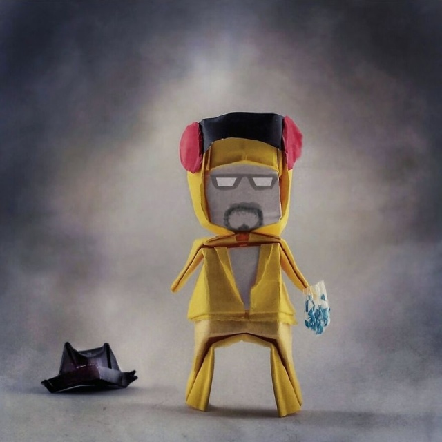 Origami Inspired By Pop Culture (26 pics)