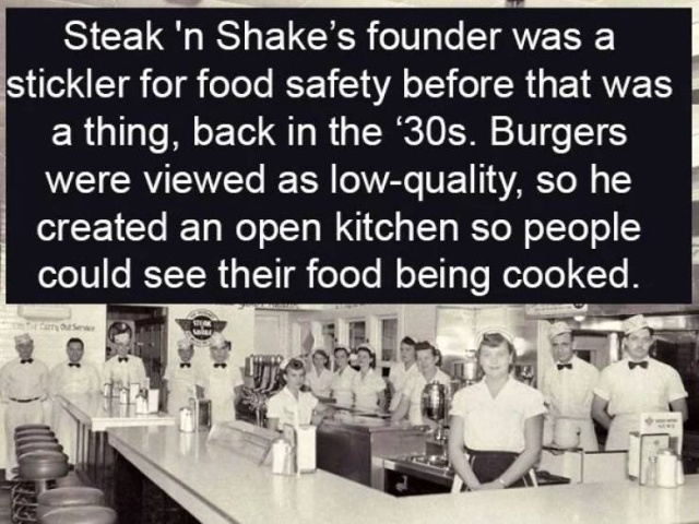 Interesting Facts About Burger Chains (17 pics)