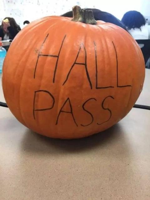 Very Unusual Hall Passes (34 pics)