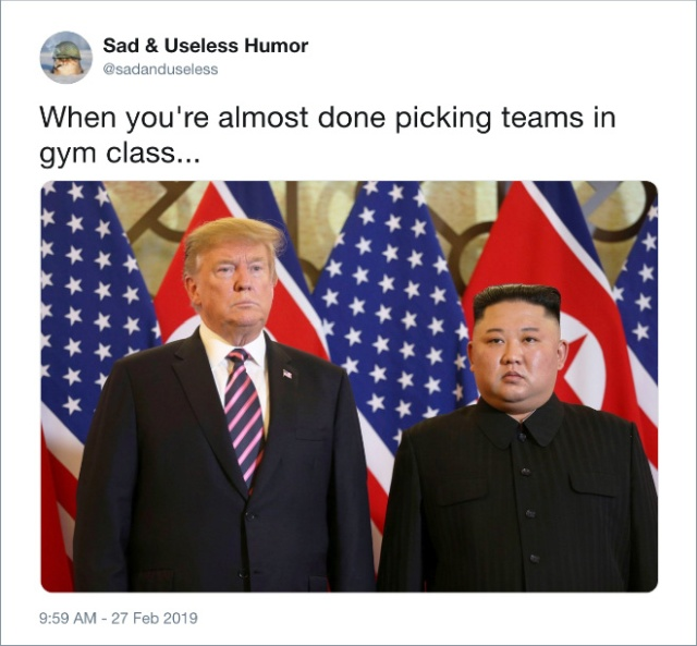 Internet Reacts To Trump's Meeting With Kim Jong-Un (20 pics)