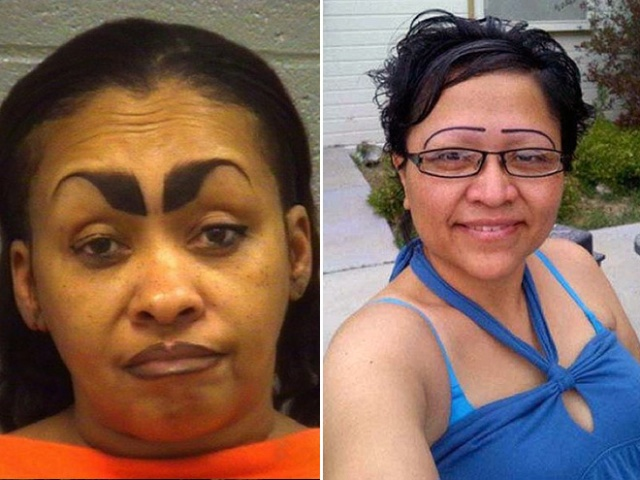Women Who Don't Understand Eyebrows (21 pics)