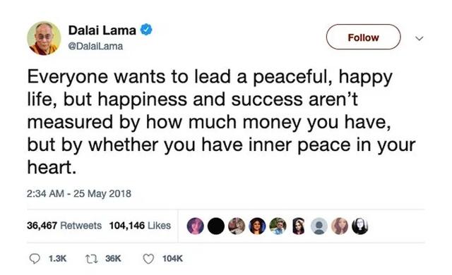 The Dalai Lama On Twitter (16 pics)