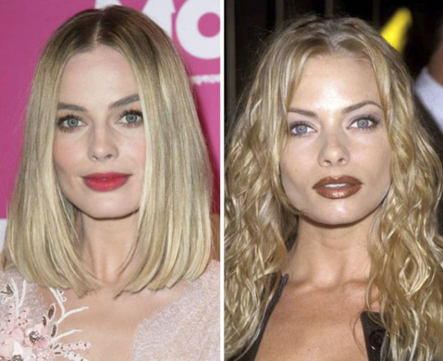 No One Can Tell Where's Margot Robbie And Where's Jaime Pressly (18 pics)