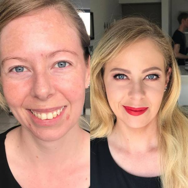 Wedding Makeup Before And After (27 pics)