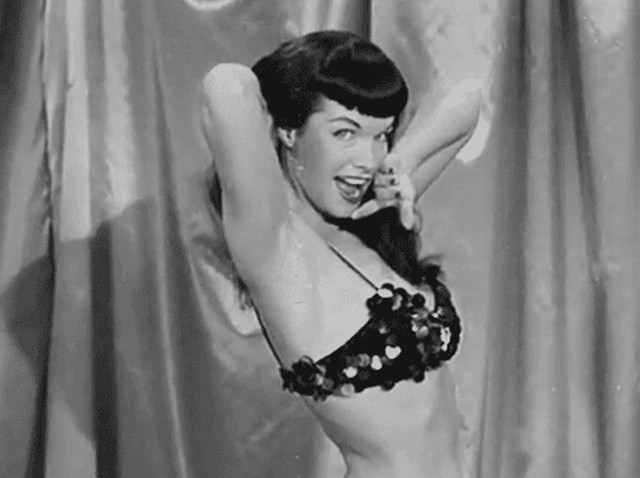 Bettie Page's Classic Beauty (16 gifs)