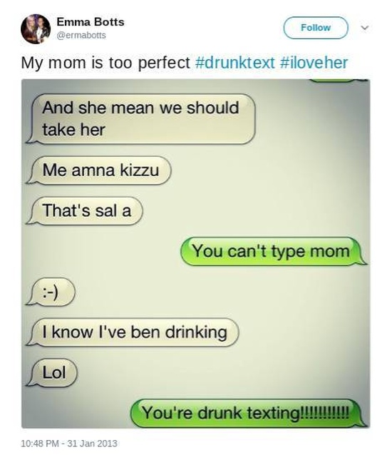Parents Who Drunk-Texted Their Kids In The Best Way Possible (21 pics)