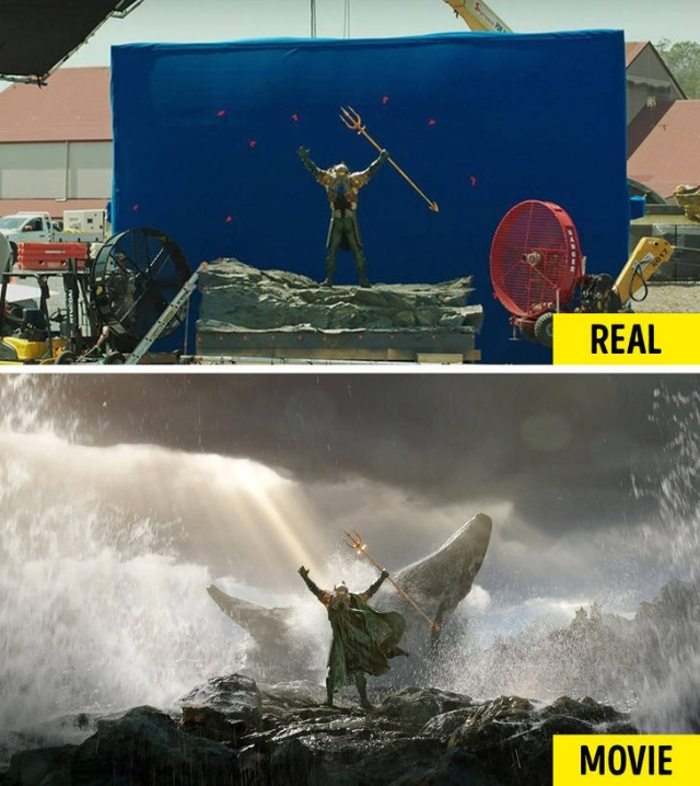Special Effects In The Movies (20 pics)