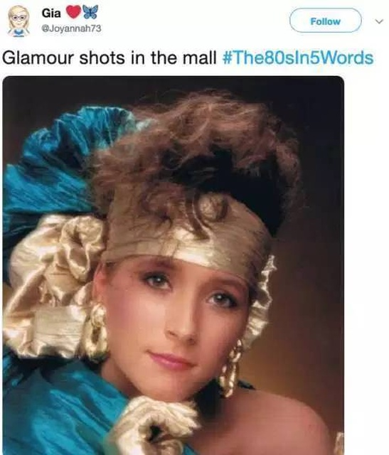 The 80's In 5 Words (26 pics)