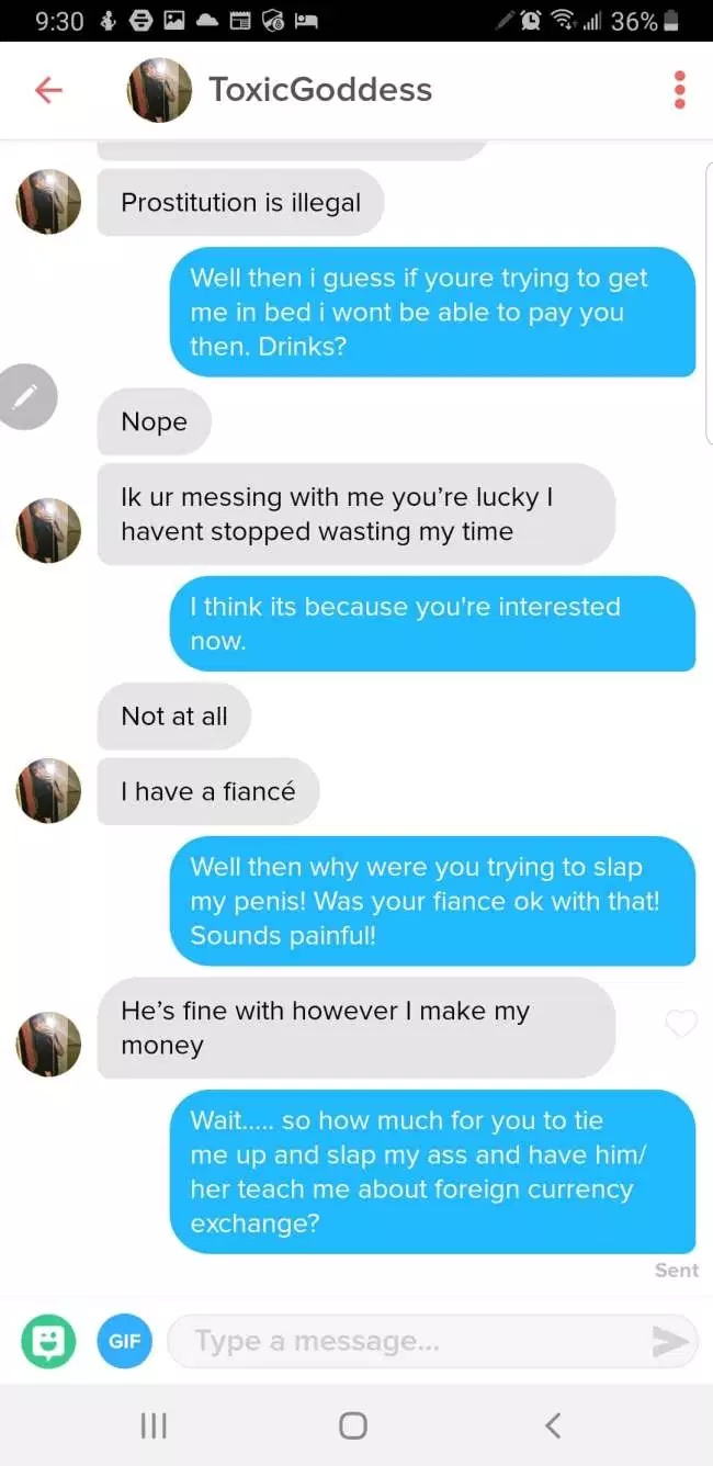 This Is How You Troll A Gold Digger On Tinder (12 pics)