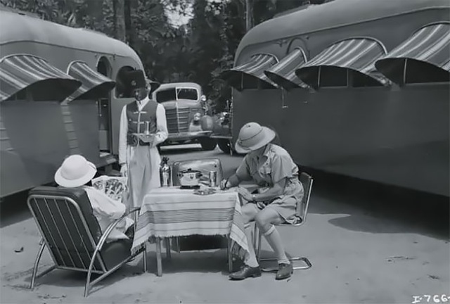 Jungle Yacht, The Luxury Apartment On Wheels 1930-as évekből (7 kép)