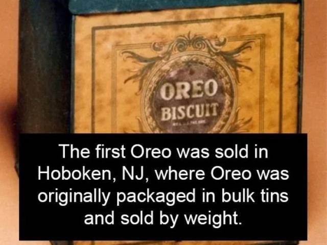 Oreo Facts (17 pics)