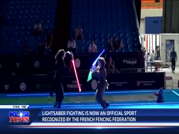French Lightsaber Fencing Tournament