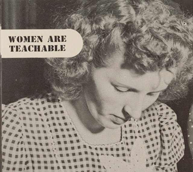 """""""Women Are Teachable"""" Booklet From 1940s (8 pics)"""