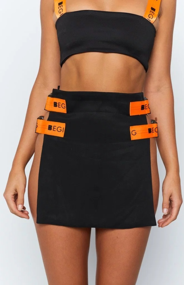 This Sexy Buckle Skirt Costs $30 (6 pics)