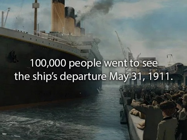 Facts About The Titanic (20 pics)