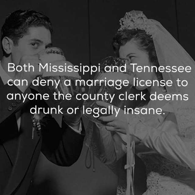 According To These Laws, Marrying Someone Almost Makes You A Criminal (23 pics)