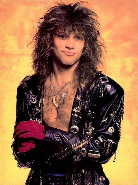 Bon Jovi Outfits In 1980s (20 pics)
