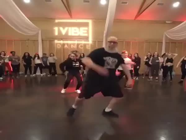 Be Careful, This Dad Might Burn The Dancefloor