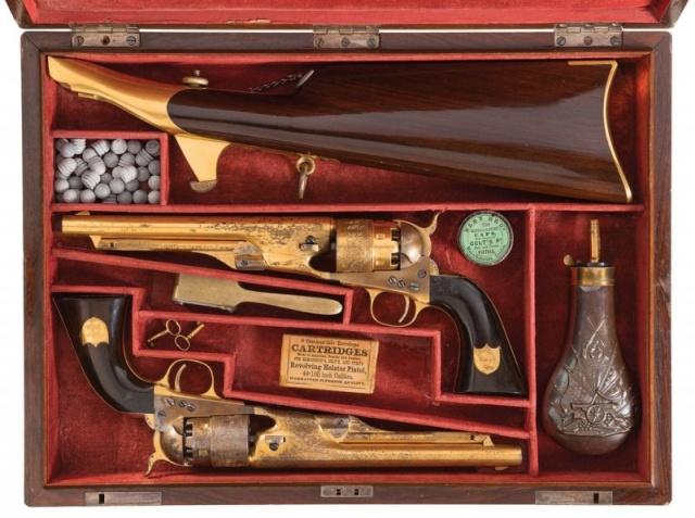 Colt Model 1860 Army Revolvers (7 pics)