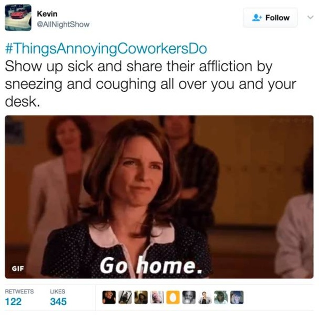 The Best #ThingsAnnoyingCoworkersDo Tweets (23 pics)
