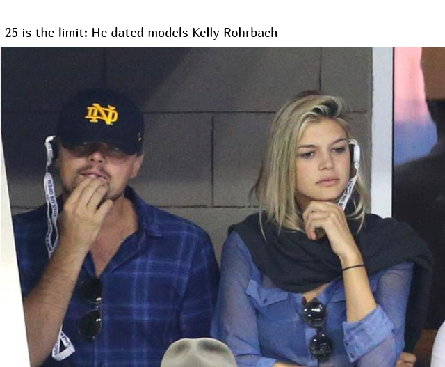 Leonardo DiCaprio Doesn't Date Women Older Than 25 (9 pics)