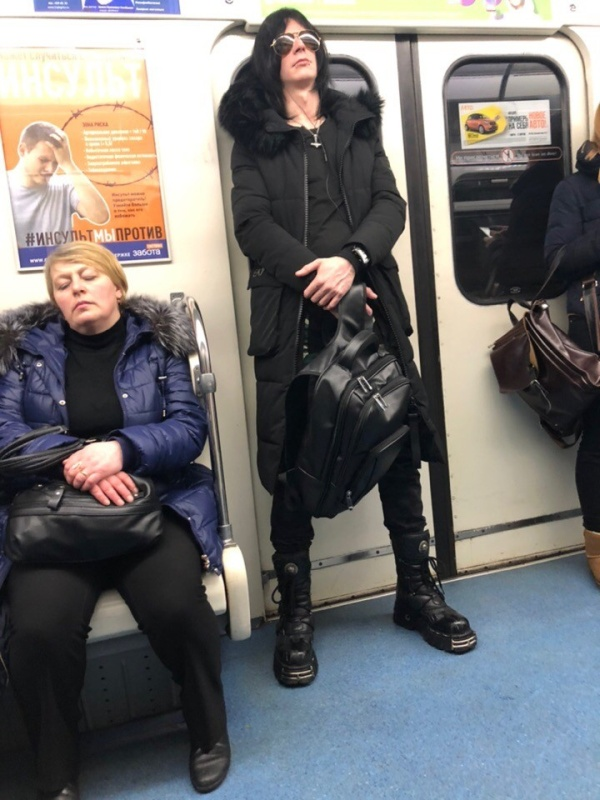 People In Subway (36 pics)