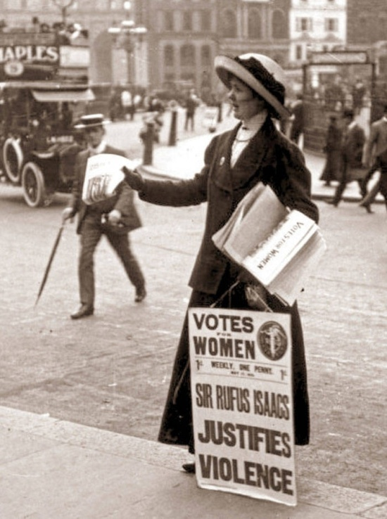 Suffragette's Advice From 1918 (10 pics)
