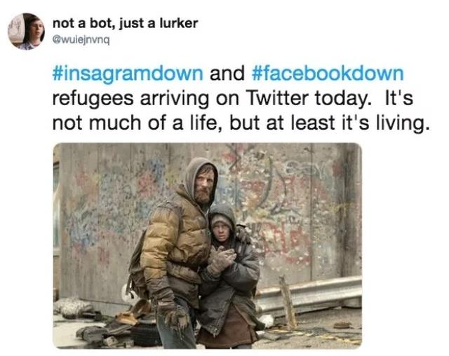Facebook & Instagram Shutdown Memes (23 pics)