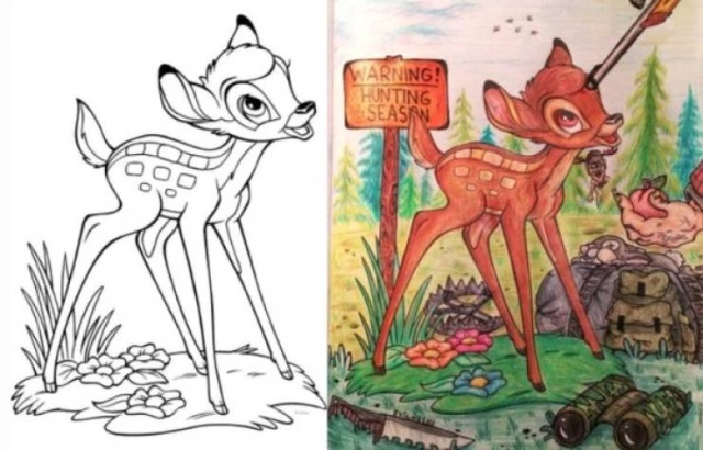 Something Is Very Wrong With These Coloring Books (28 pics)