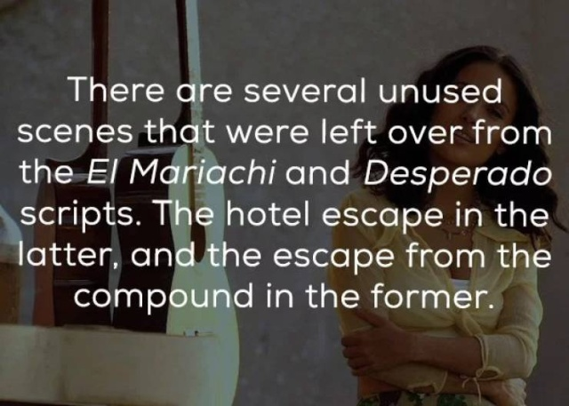 """Facts About """"Once Upon A Time In Mexico"""" (19 pics)"""