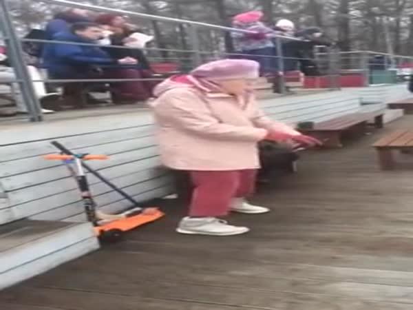 Granny's Got Some Sick Moves