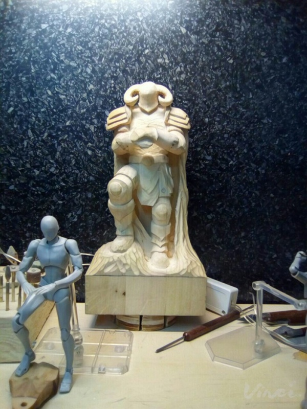 DIY Wood Sculpture (19 pics)