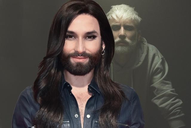 Eurovision Winner Conchita Wurst Is A Male Again (4 pics)