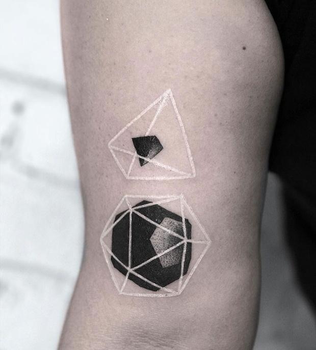 Creative White Tattoos (30 pics)