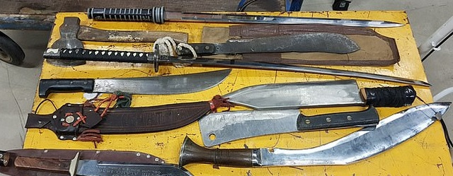 These Weapons Were Handed In To UK Police In Just Seven Days (7 pics)