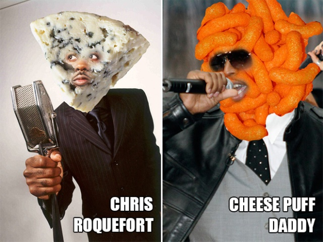 Cheese Celebrities (20 pics)