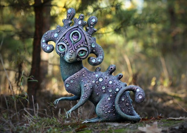 Handmake Creatures From A Fantasy World (25 pics)