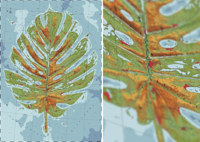 Fictional Maps That Honor Nature And Animals (17 pics)