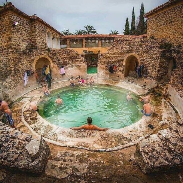 This Roman Bathhouse Was Built Over 2,000 Years Ago And Is Still Up And Running (6 pics)
