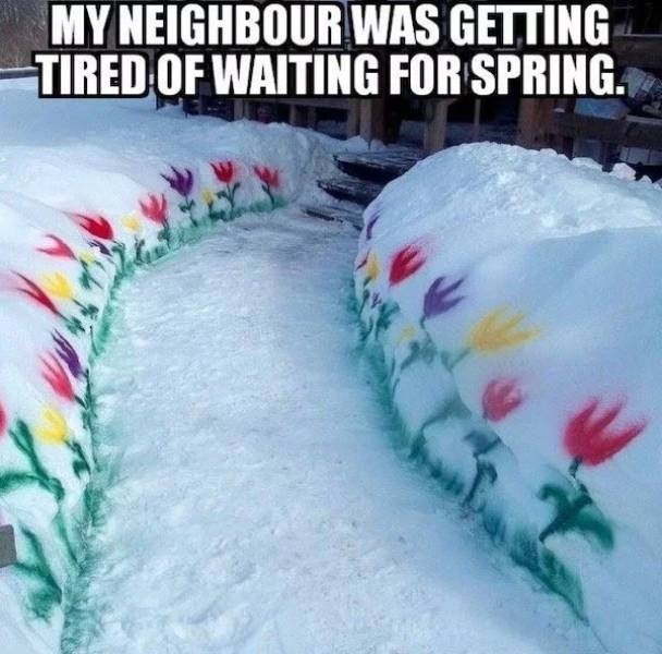 Spring Is Coming Memes (26 pics)